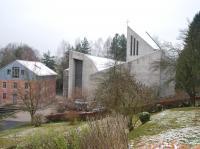 Auferstehungskirche Sailauf 1971 bis 2009 (2)