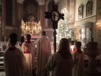 Messfeier zum Heiligen Abend 2019 St. Vitus Sailauf (6)