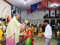 Bischof Arulselvam Rayappan besucht erstmalig Einrichtungen in seinem neuen Bistum Salem (14)