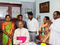 Bischof Arulselvam Rayappan besucht erstmalig Einrichtungen in seinem neuen Bistum Salem (16)