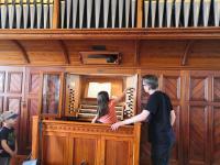 Orgelführung für Kinder am 4.08.2020 in St. Vitus Sailauf (12)