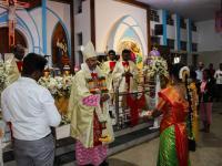 Bischof Arulselvam Rayappan besucht erstmalig Einrichtungen in seinem neuen Bistum Salem (18)