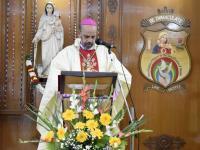Bischof Roy in Salem, Südindien