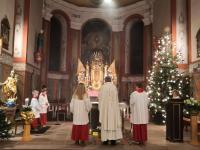 Messfeier zum Heiligen Abend 2019 St. Vitus Sailauf (3)