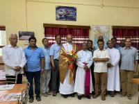 Freude über die Ernennung zum Bischof im Päpstlichen Institut Bangalore (2)