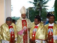 Bischof Arulselvam Rayappan besucht erstmalig Einrichtungen in seinem neuen Bistum Salem (1)