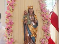 Marienbild in der Eichenberger Kapelle Mariä Heimsuchung