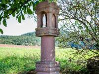 Marienbildstock am Nassen Acker Eichenberg