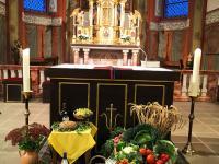 Erntedank Messfeier in Sailauf St. Vitus am 3.10 (1)