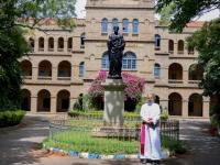 Freude über die Ernennung zum Bischof im Päpstlichen Institut Bangalore (5)