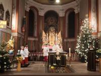 Messfeier zum Heiligen Abend 2019 St. Vitus Sailauf (1)