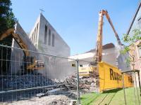 Auferstehungskirche Abriss Juni 2009
