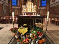 Erntedank Messfeier in Sailauf St. Vitus am 3.10 (8)