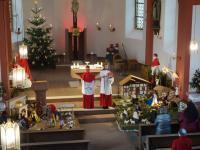 Messfeier 2. Weihnachtsfeiertag 2020 Feldkahl (5)
