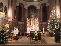 Messfeier zum Heiligen Abend 2019 St. Vitus Sailauf (2)