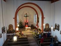 Messfeier 2. Weihnachtsfeiertag 2020 Feldkahl (4)