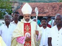 Bischof Arulselvam Rayappan besucht erstmalig Einrichtungen in seinem neuen Bistum Salem (20)
