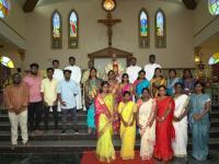 Bischof Arulselvam Rayappan besucht erstmalig Einrichtungen in seinem neuen Bistum Salem (7)