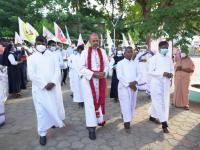 Bischof Arulselvam Rayappan besucht erstmalig Einrichtungen in seinem neuen Bistum Salem (3)